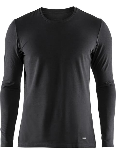 Craft M's Essential Warm Roundneck LS Shirt Black